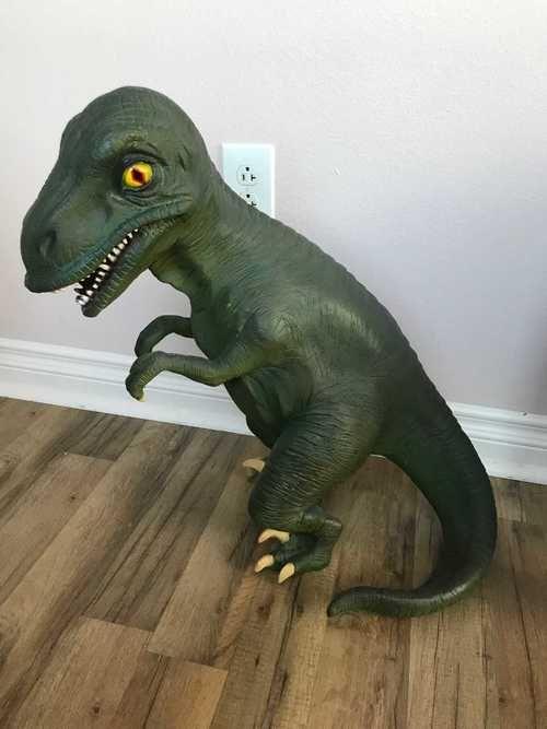 Dinosaur T-Rex Baby Prehistoric Prop Resin Statue #historyofdinosaurs