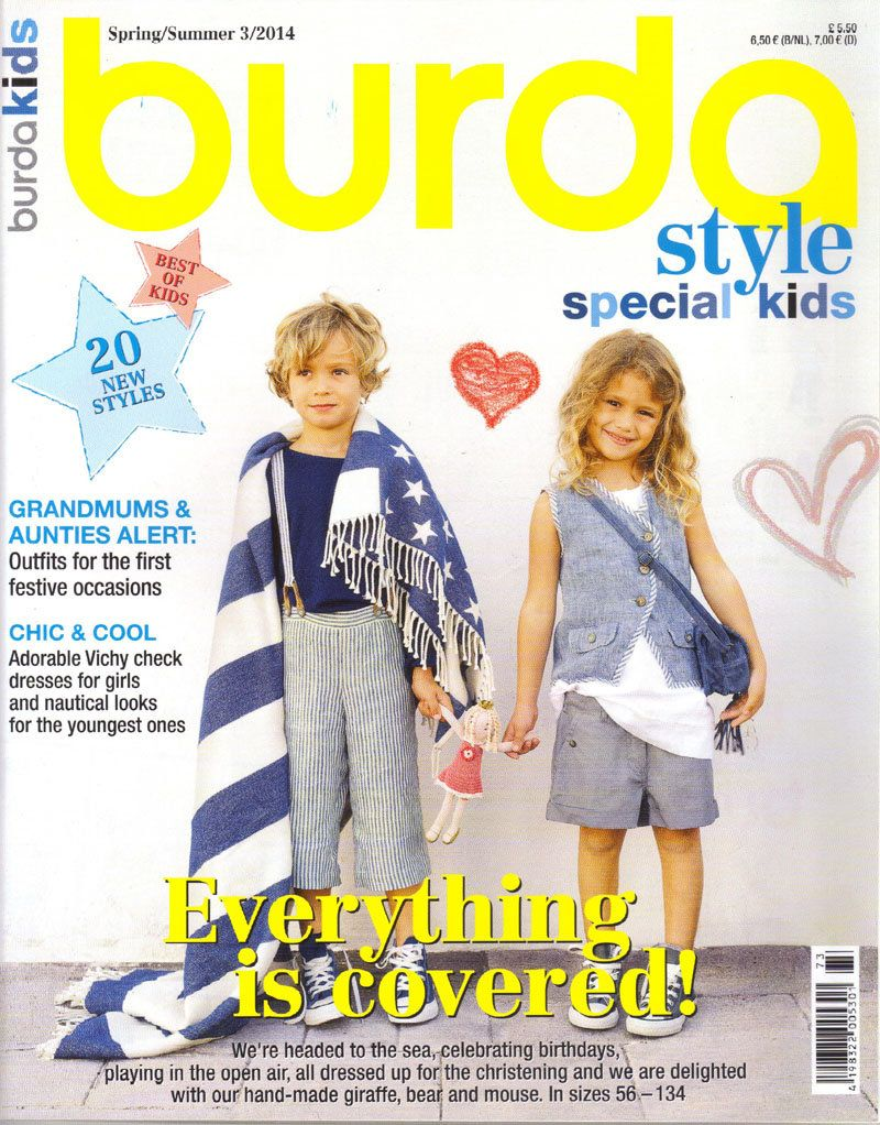 Burda style special kids magazine springsummer 2014 english burda style special kids magazine springsummer 2014 english sewing patterns by honeyjamsuniques on etsy jeuxipadfo Image collections