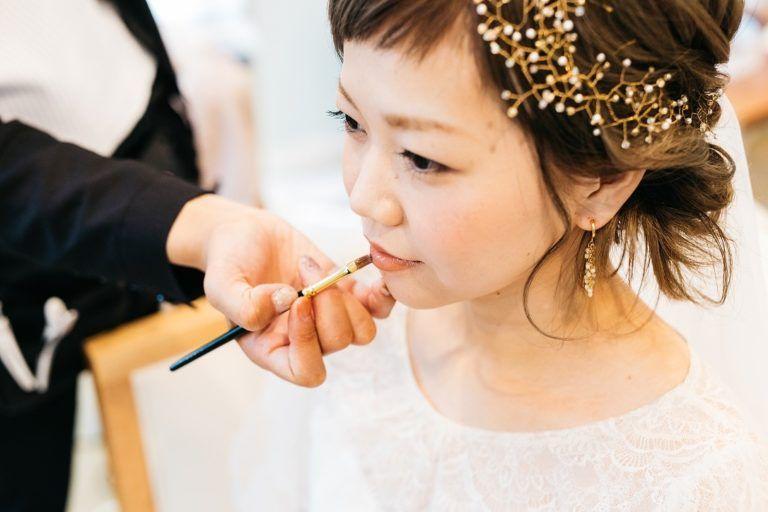 和装ウェディングにも ゴールドフラワーのヘッドドレスの作り方