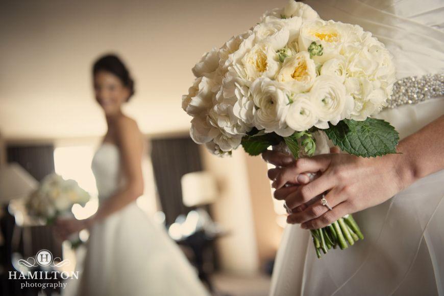 Beautiful White Bridal Bouquet
