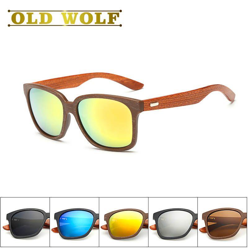 eacbb8503a Bois 2017 Brand Designer Wooden Frame Sunglasses Women Wood Foot Men  Goggles uv400 Sun Glasses For