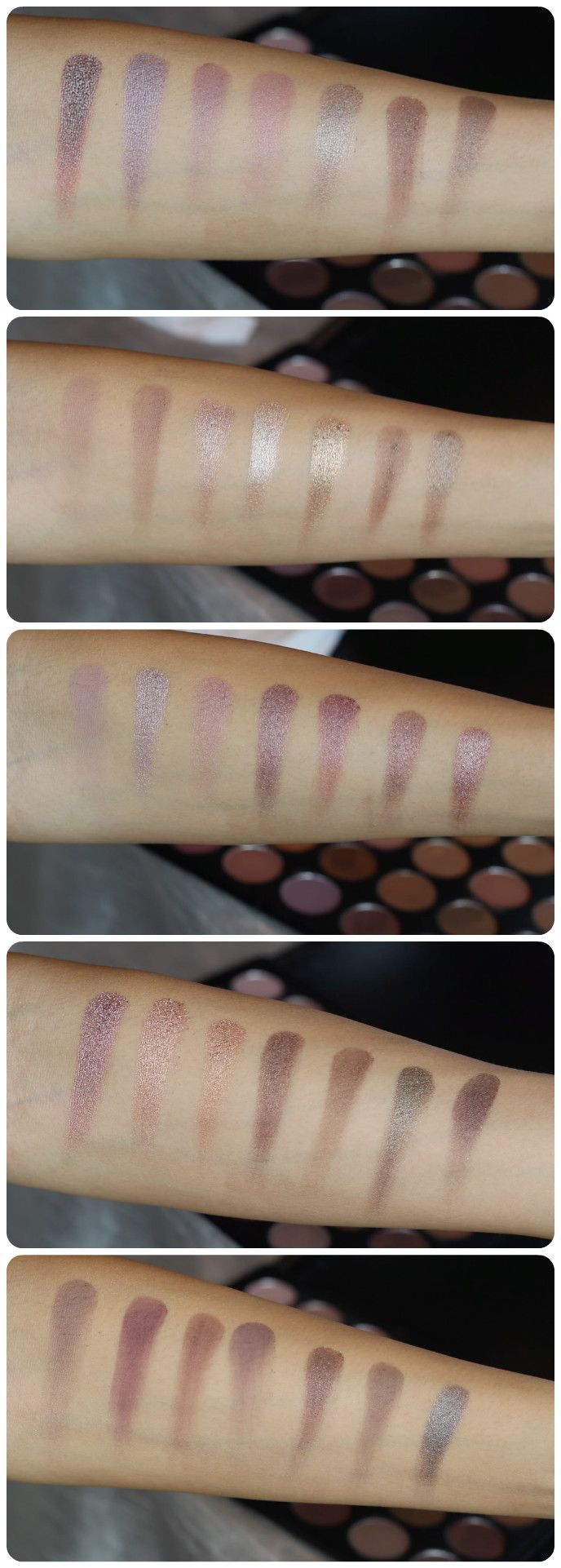 REVIEW & SWATCHES MORPHE BRUSHES 35T EYESHADOW PALETTE