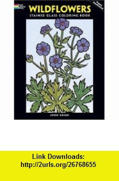 Wildflowers Stained Glass Coloring Book Dover Nature 9780486289038