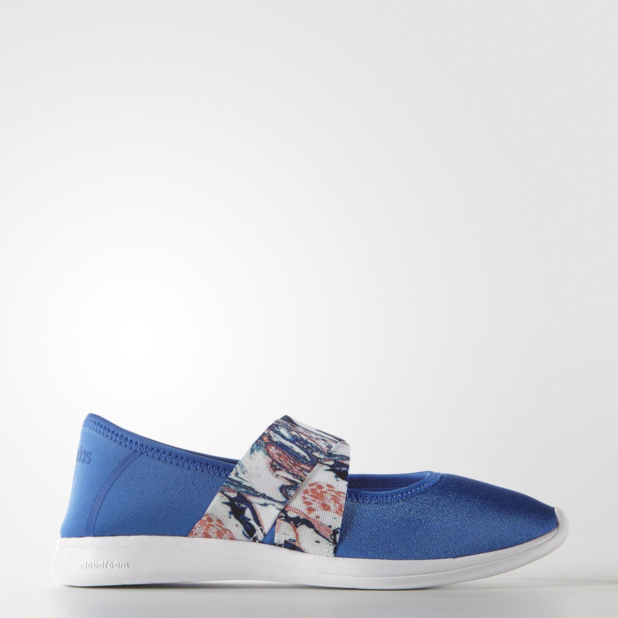 adidas cloudfoam puro mary jane scarpe adidas noi blu moda