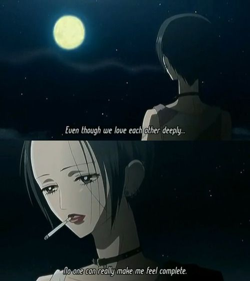 Emo Quotes About Suicide: Nana Osaki Quotes - Google Search