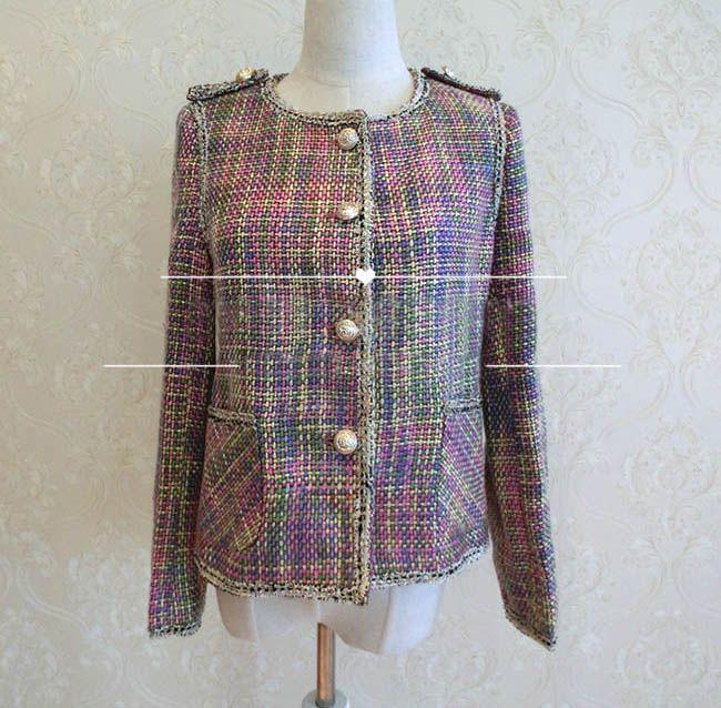 Veste tweed femme pas cher