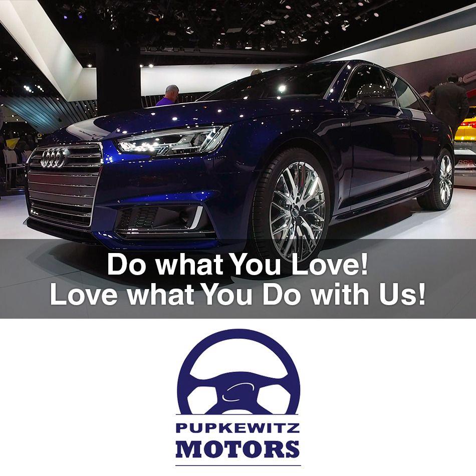 We Are Hiring In Windhoek Namibia Pupkewitz Motors Sales - Audi car job vacancy