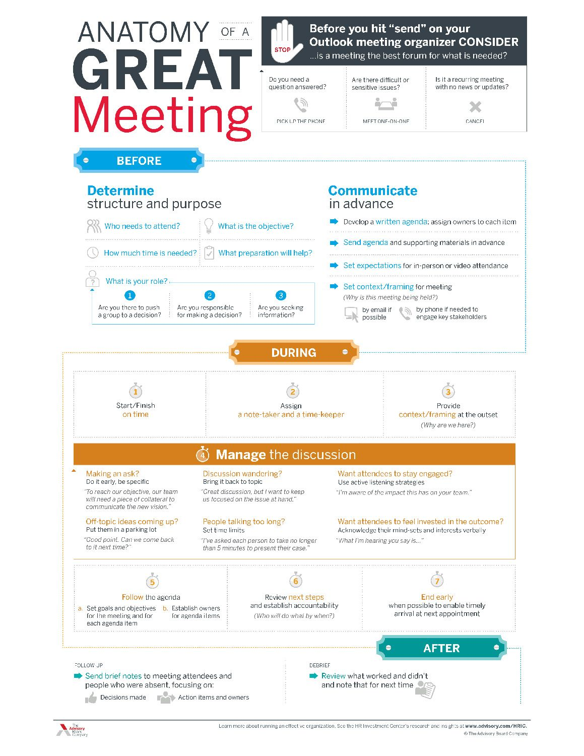Learn How To Run A Great Meeting  Career Development
