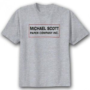 The Office: Michael Scott Paper Company T-Shirt