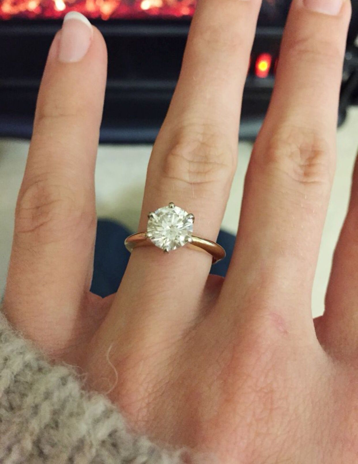 My dream engagement ring! It's so simple yet so stunning