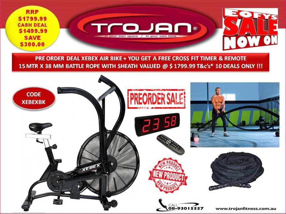 Exercise Bikes Air Bike Xebex Pre Arrival Sale With Bonus 15 Mtr
