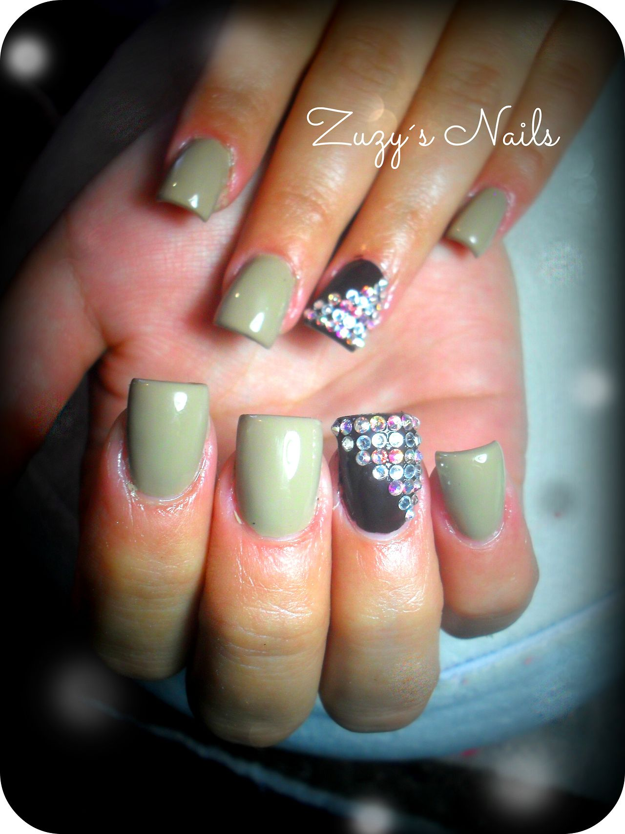 Acrylic nails Uñas decoradas | Uñas | Pinterest