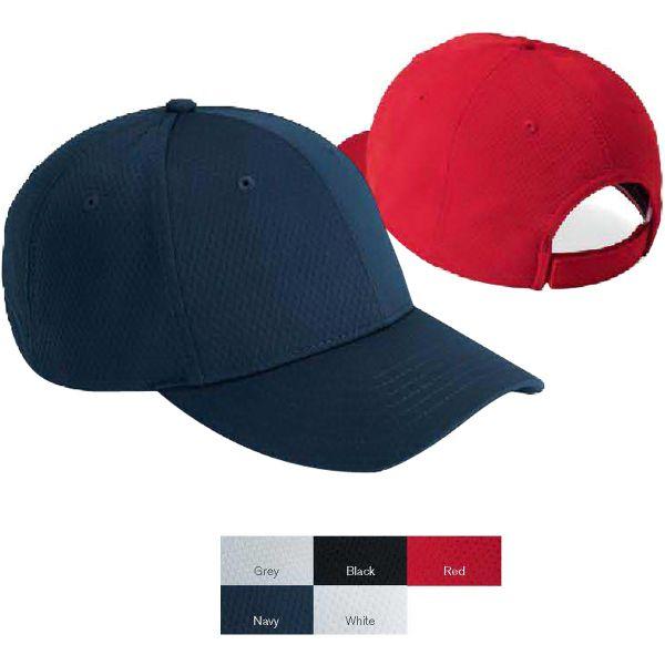 369d9e81 Authentic Headwear Performance Poly Mesh Cap | Headwear | Mesh cap ...