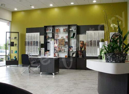Closet Factory Transforms An Optometry Office Optometry Office