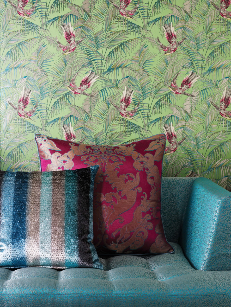 Matthew S Love Of Colour Pattern And Texture Has Been Paired With  # Muebles Savoir Faire
