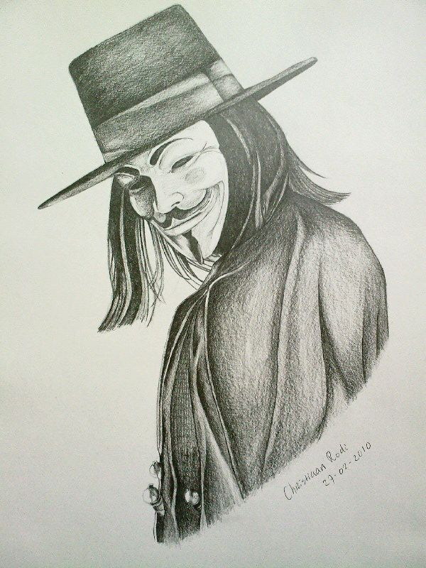 v for vendetta drawing - Google Search | thigs to draw | Pinterest ...