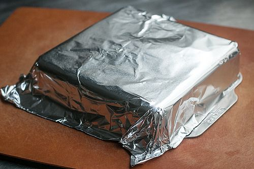 How To Line A Baking Pan With Aluminum Foil Baking Pans Baking