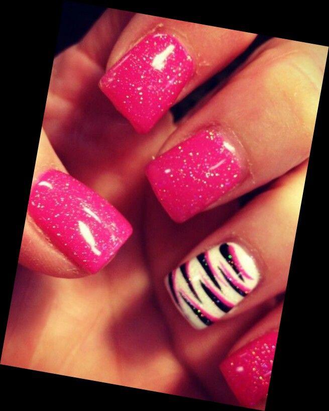 Nail Art Zebra Stripes: Pin By Brooke Smith On Nails