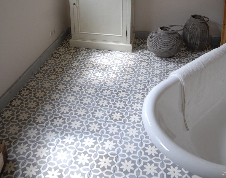 Cement Tile Model Azul Von Replicata Ornament Flower Point Replikate Cement Tile Unique Flooring Flooring