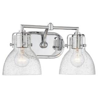 Check Out The Minka Lavery 5722 77 2 Light Bathroom Wall Sconce In Chrome With