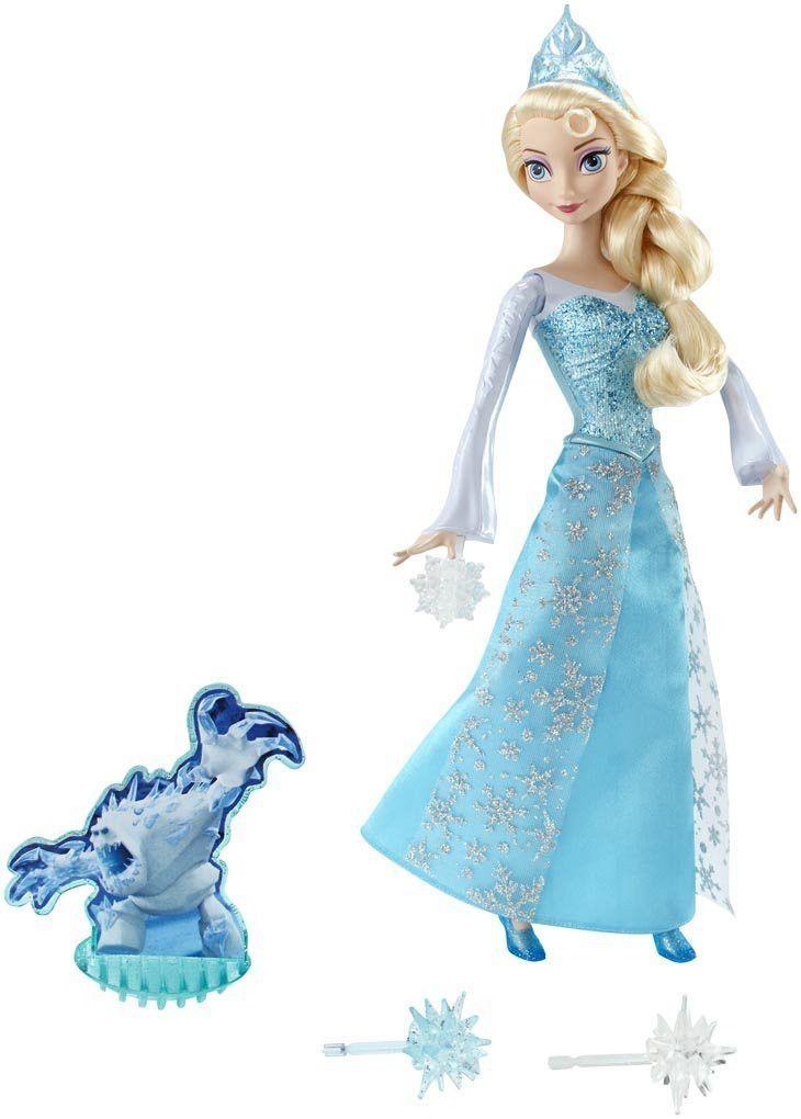 Disney frozen ice power elsa doll disney princess dolls