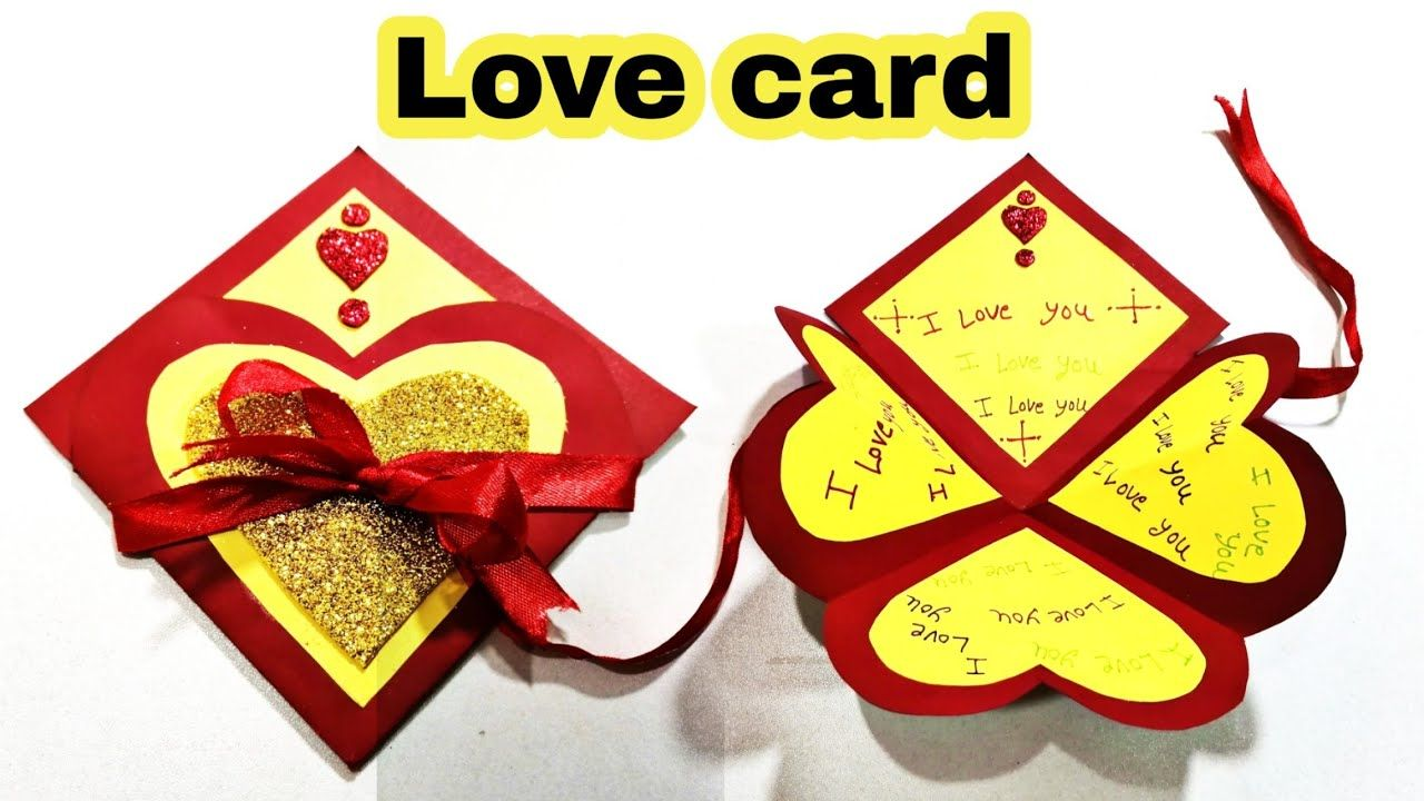 Eid Card Banane Ka Tarika In 2021 Love Cards Eid Card Designs New Year Card Making