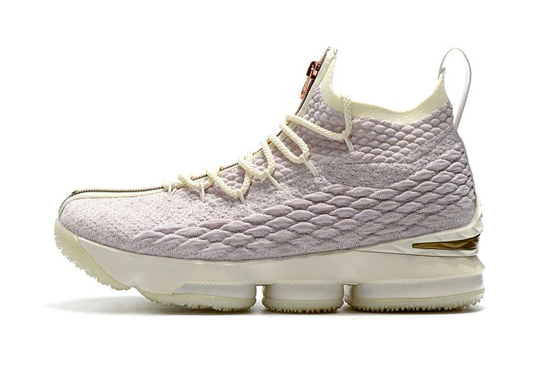 19d9f940832 Best Quality Mens KITH x Nike LeBron 15 Rose Gold Long Live the King  Basketball Shoes