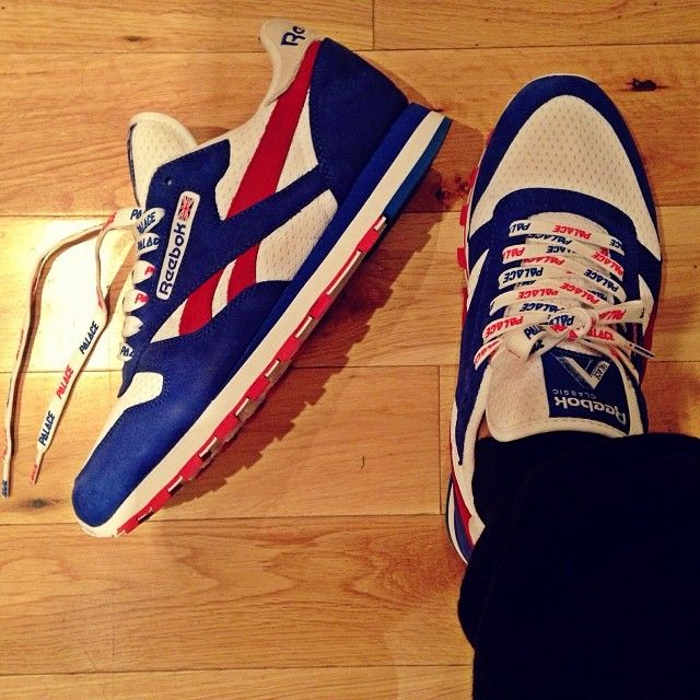 brand new ff397 918f8 reebok x palace classic leather r12