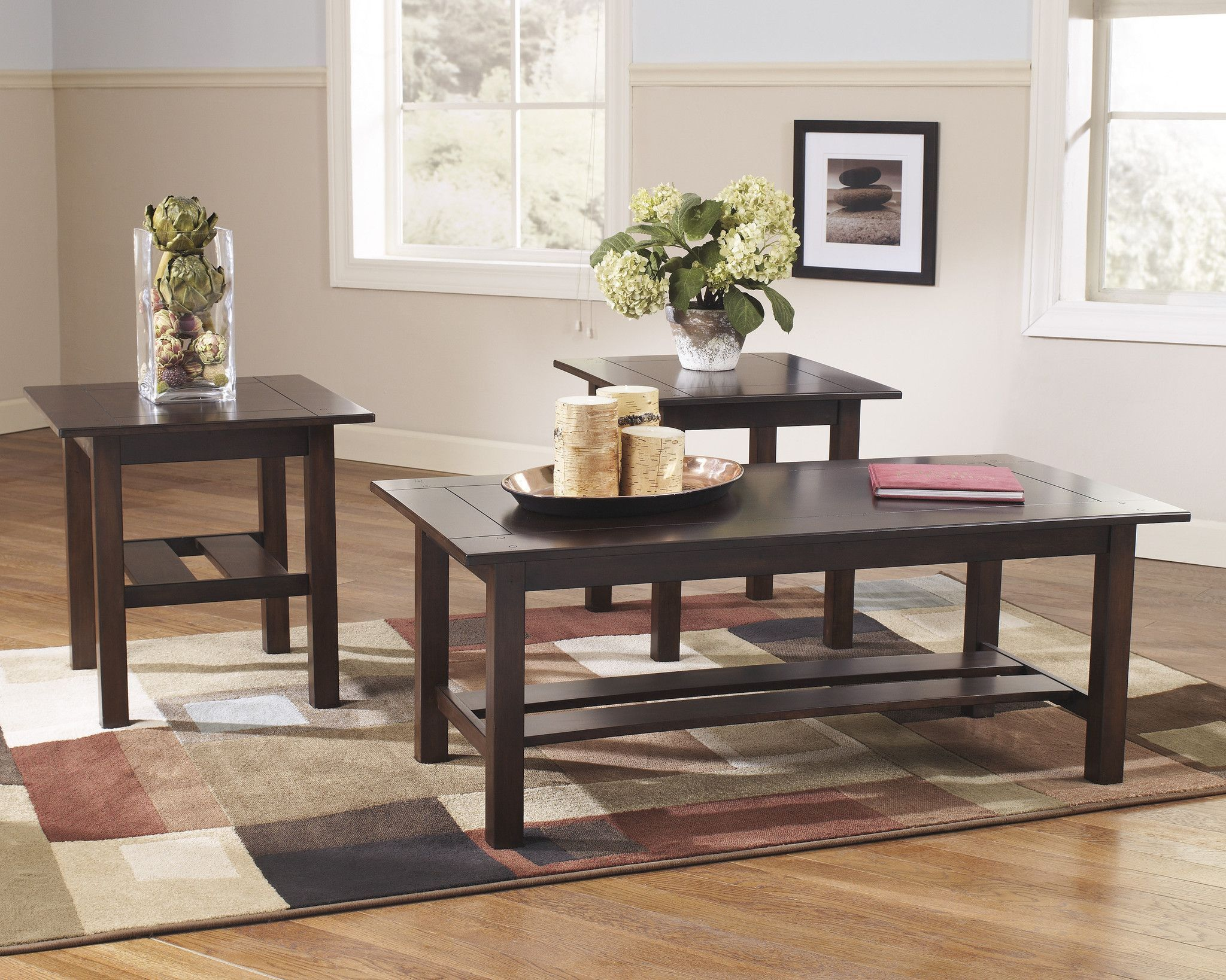 Best Coffee And Ends Lewis 3Pk Living Room Table Sets Coffee 400 x 300