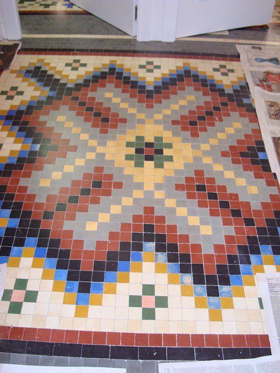 Decoracion Mosaicos Como Limpiar Pisos Azulejo Antiguo