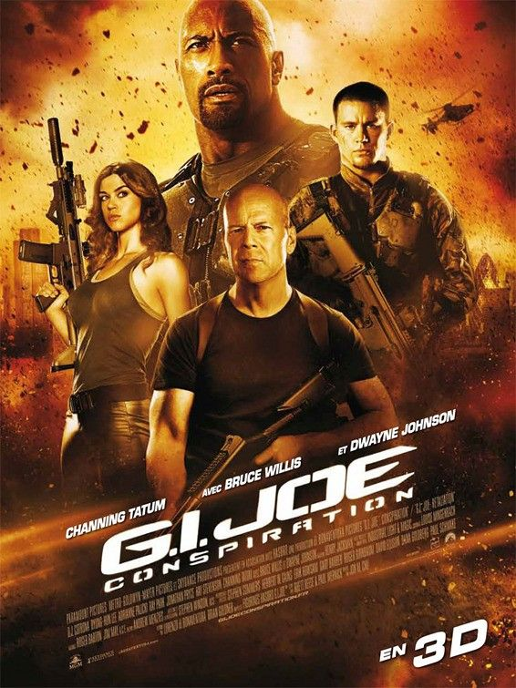 A 29th Poster For G I Joe Retaliation When Will They End Movies Joe Movie Action Adventure Movies
