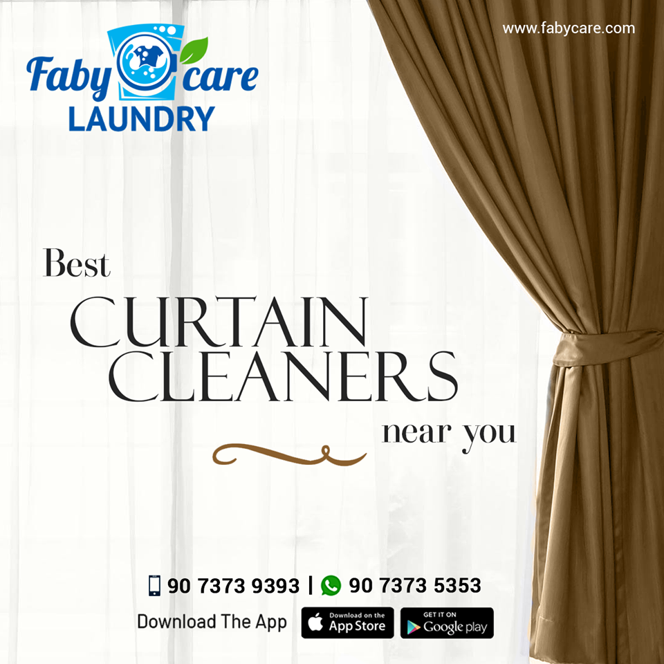 Fabycare Laundry Is The Simplest Way To Find And Book Curtain
