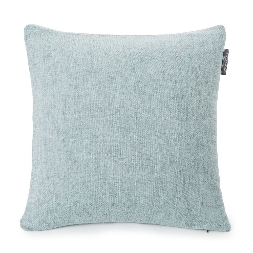 Urban wool cushion cover xcm pastel green urban collective