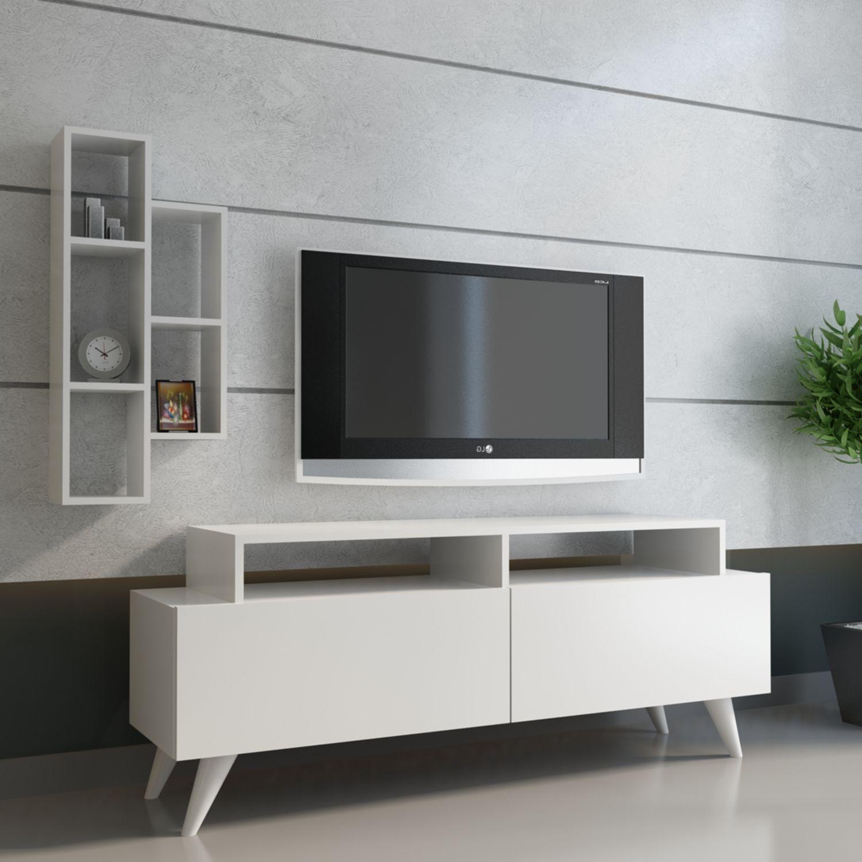 Best Tv Unitesi Tv Unitesi Olculeri Yukseklik 52 7 Cm Genislik 120 Cm Derinlik 29 6 Cm Duvar Rafi Olculeri Yuksek Tv Unitesi Tv Kitaplik Dekorasyon