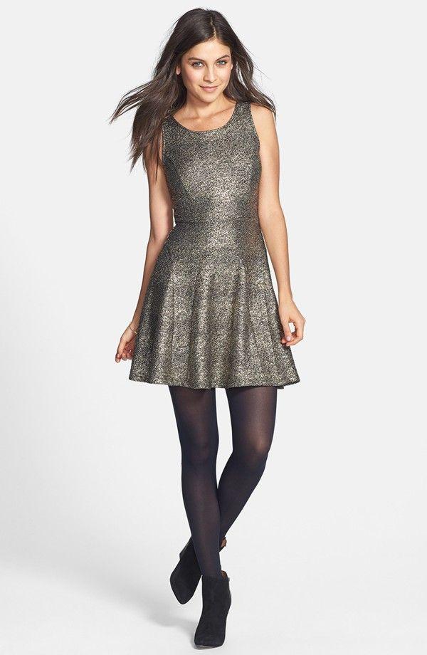 be3bd5dd91c7 Soprano Glitter Skater Dress (Juniors)