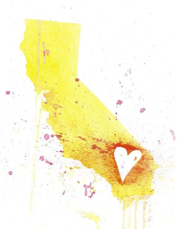 Yellow California Love