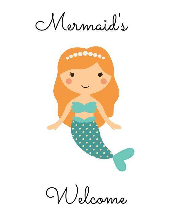 Free Printable Mermaid Pictures