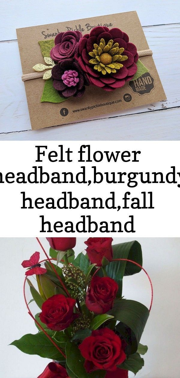 Felt flower headband,burgundy headband,fall headband baby,fall flower headband,b...#babyfall #felt #flower #headband #headbandb #headbandburgundy #headbandfall #feltflowerheadbands