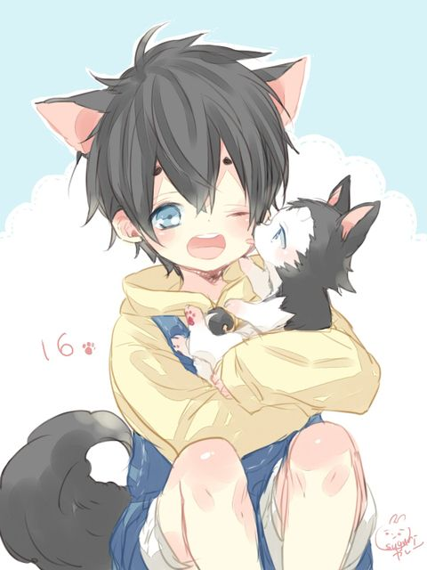 Pin By Katja On Catboy Catboy Anime Neko