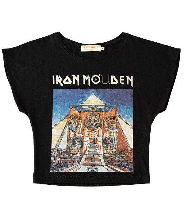 SUPERSWEET x moumi Iron Mouden Girl Tee