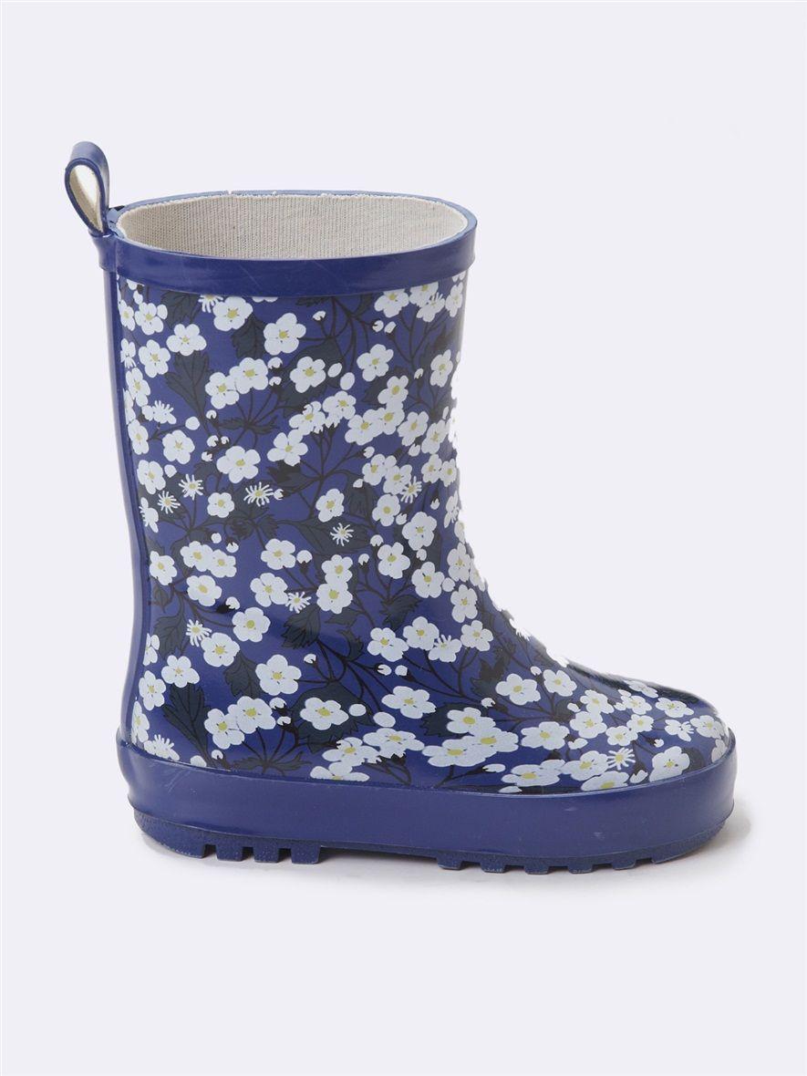 bottes de pluie fille blooming day*, la fille - vetement et déco