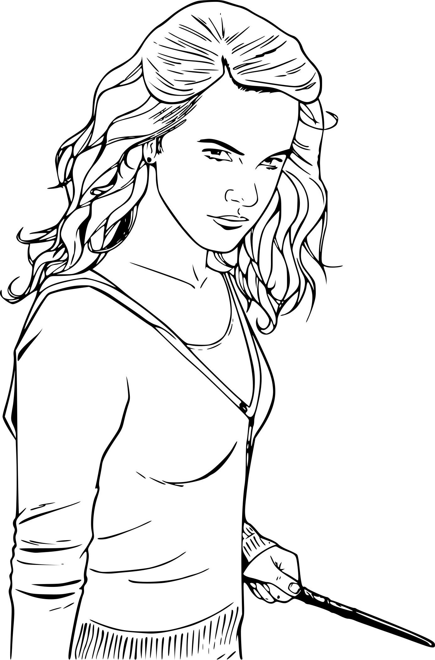 Dessin harry potter a imprimer gratuit superbe image coloriage harry potter hermione et ron - Harry potter dessin ...