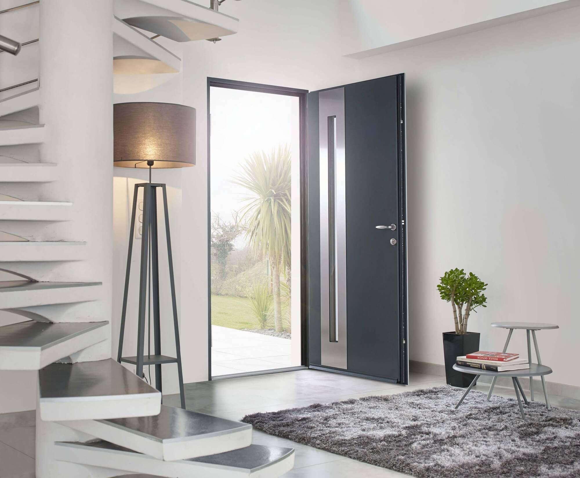 Large Choix De Portes Dentrée Creation Surmesure Interiors - Porte d entrée sur mesure