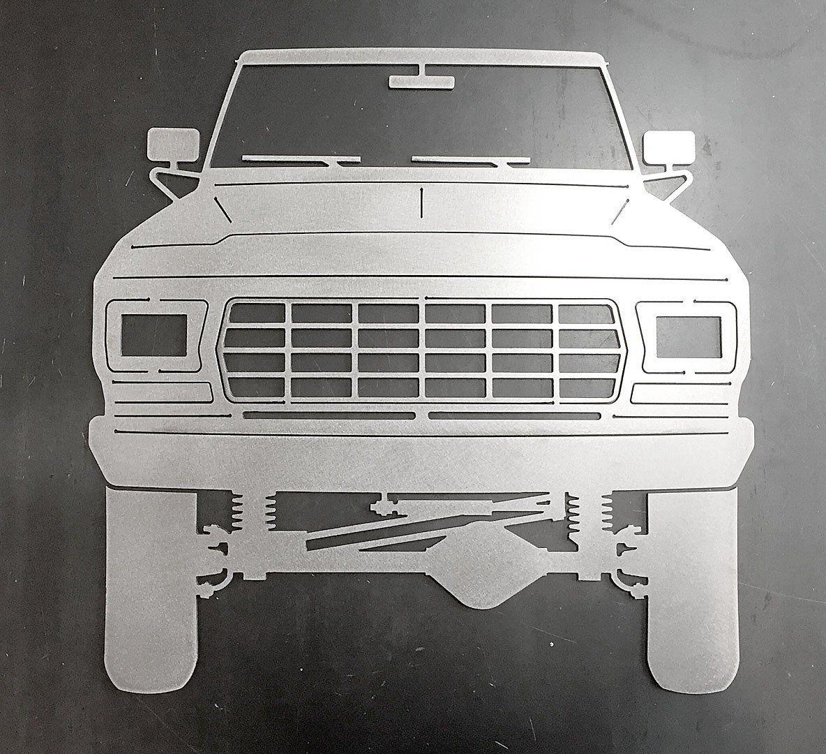 19781979 Ford F150 Bronco Ornamental Profile Etsy