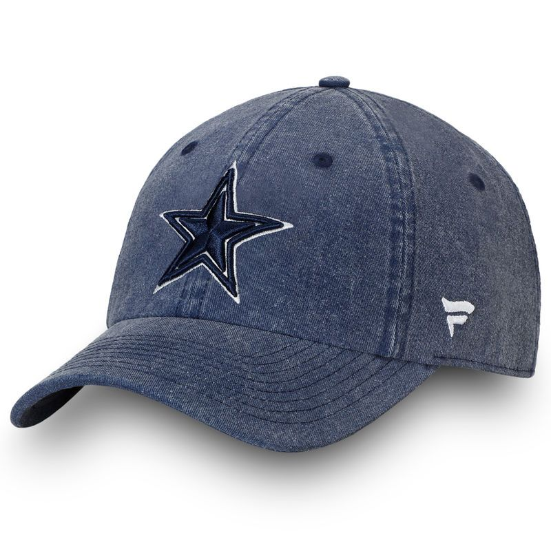 detailed look 1ab84 7fde3 Dallas Cowboys NFL Pro Line by Fanatics Branded Timeless Core Fundamental  Adjustable Hat – Navy