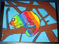 Draw an animal that symbolizes you, using a color/colors that represent you, in a pose that represents you...