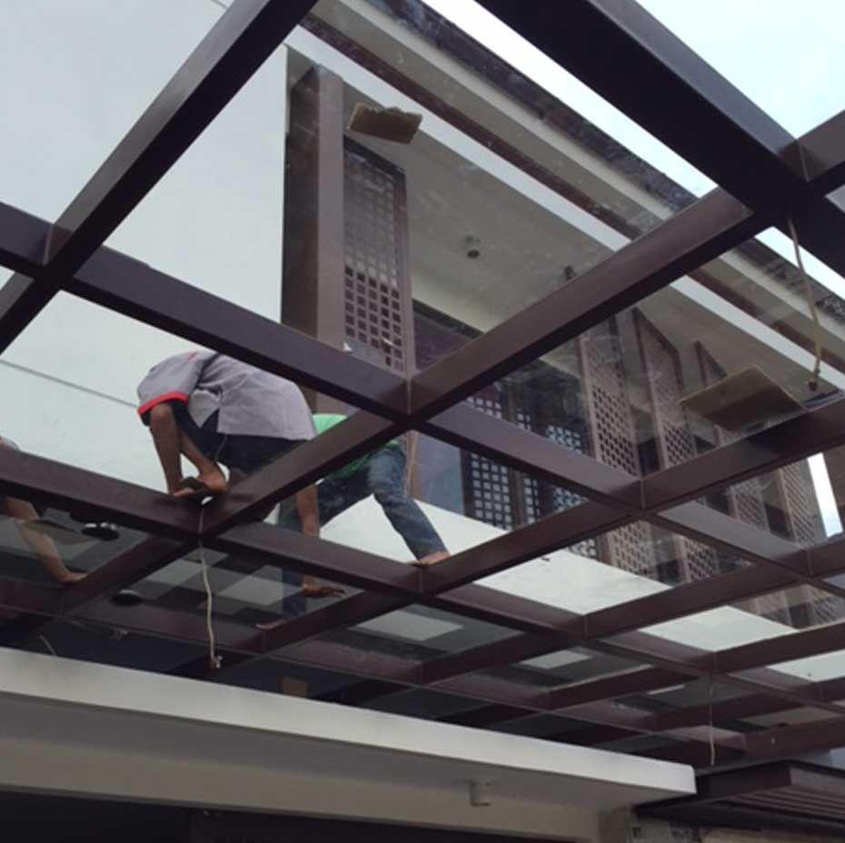 Jasa Kanopi Kaca Di Malang Hub 0812 1703 7184 Wahyudi Utomo Temukan Kanopi Kaca Paling Murah Di Sini Bahan Bangunan Kanopi Bangunan
