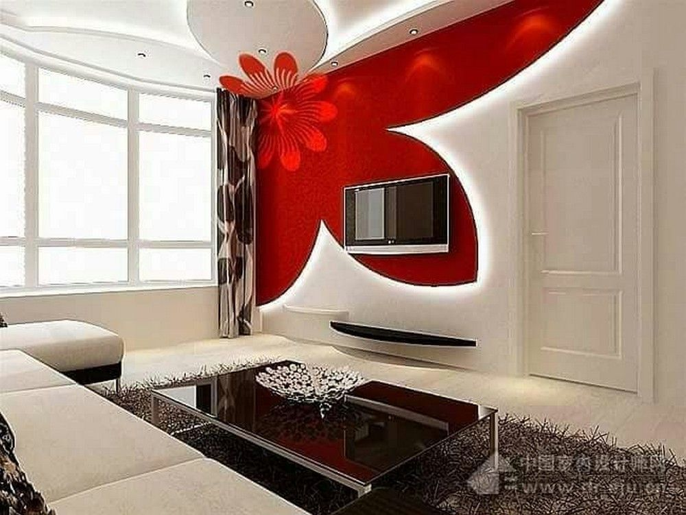 Sensational Tv Wall Stands To Catch Your Eyes Ceiling Design
