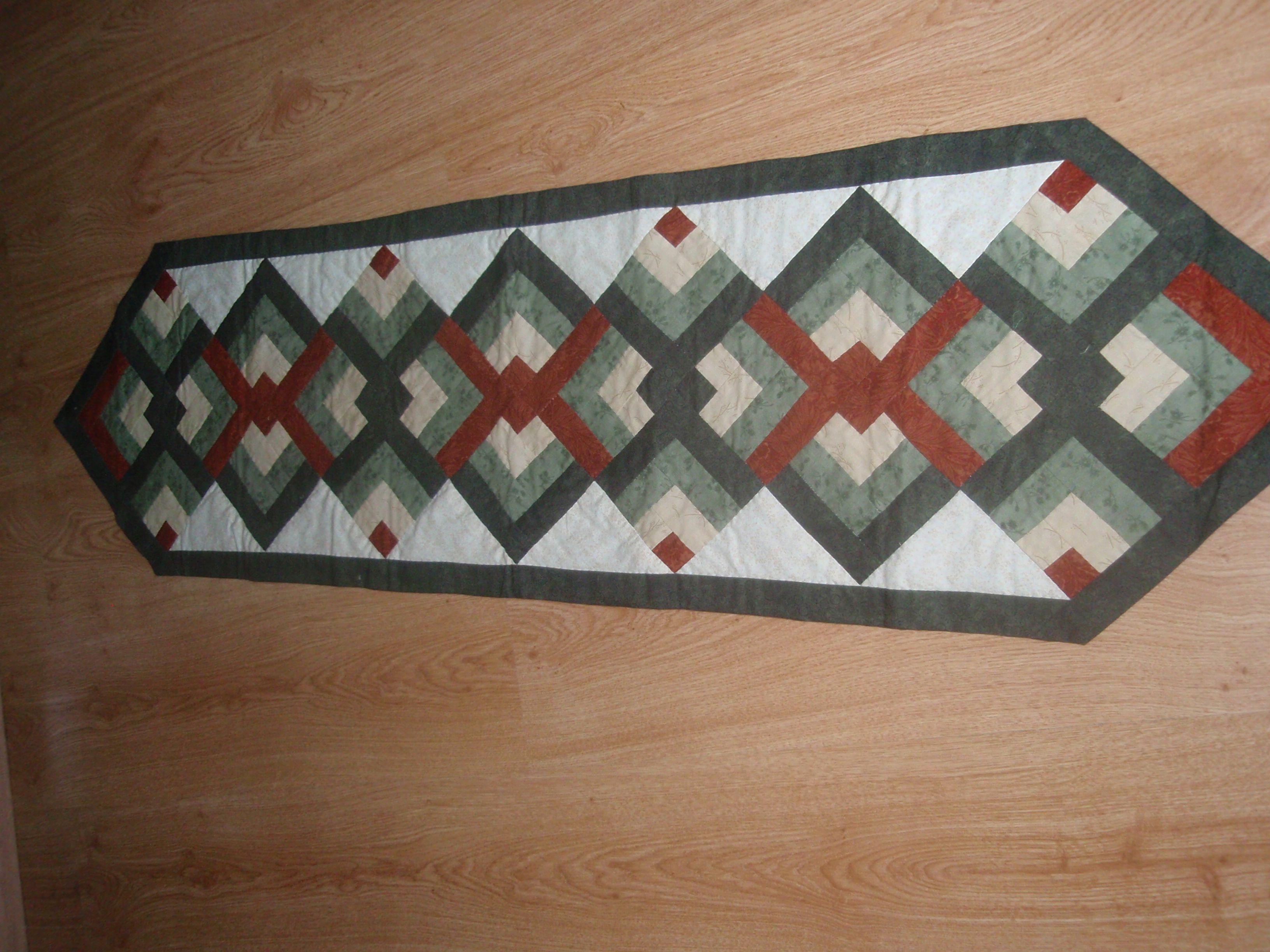 Camino de mesa patchwork pinterest caminos de mesa - Camino mesa patchwork ...