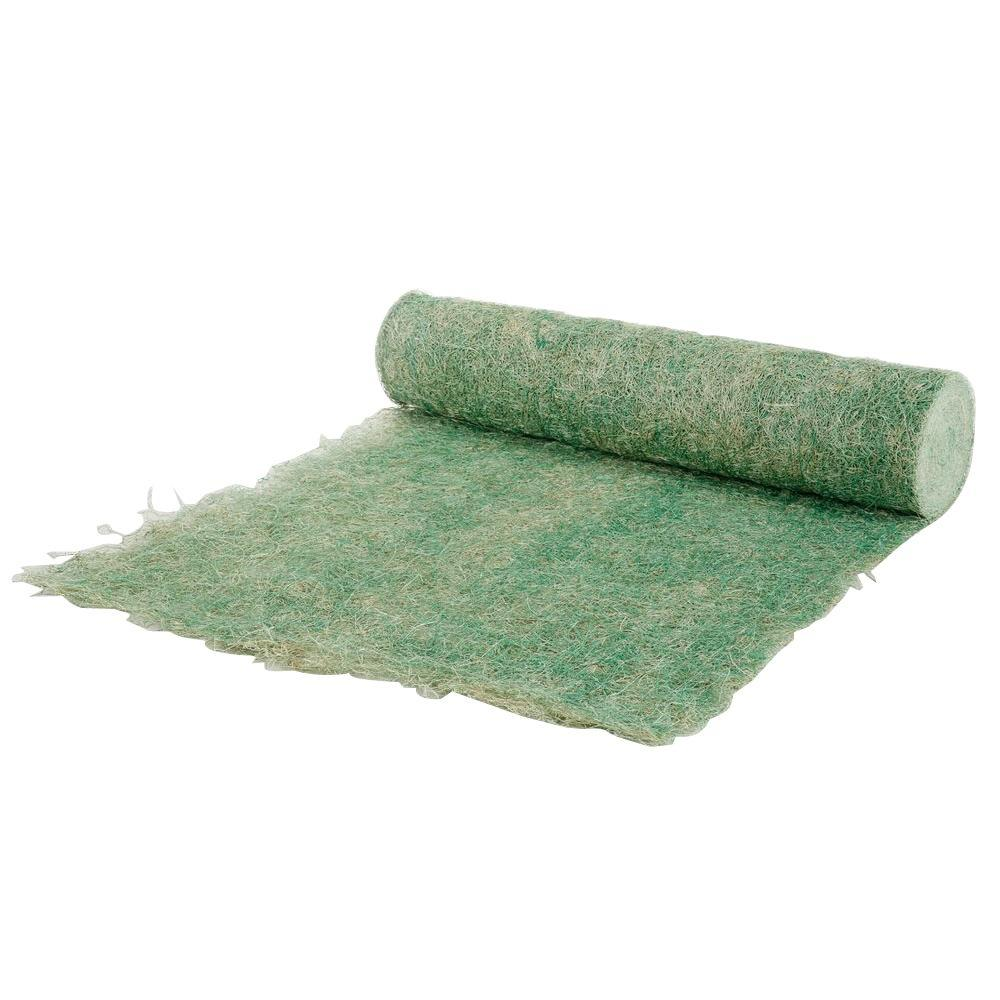 4 Ft X 180 Ft Green Single Net Seed Germination And Erosion Control Blanket 87035 The Home Depot Erosion Control Seed Germination Grass Seed Mat